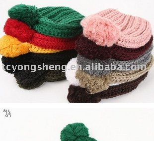 popular knitted winter hat