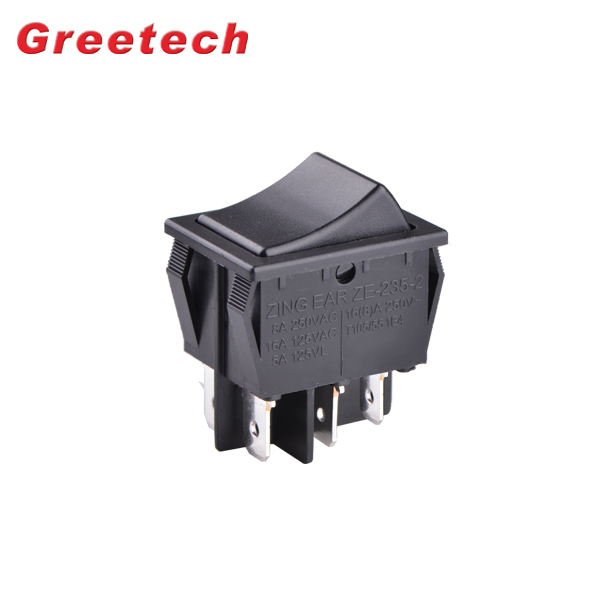 China Manufacturer Push Button On Off Power  for Home Appliances Rocker Switch