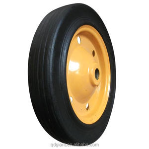 13*3 wheelbarrow solid rubber wheel