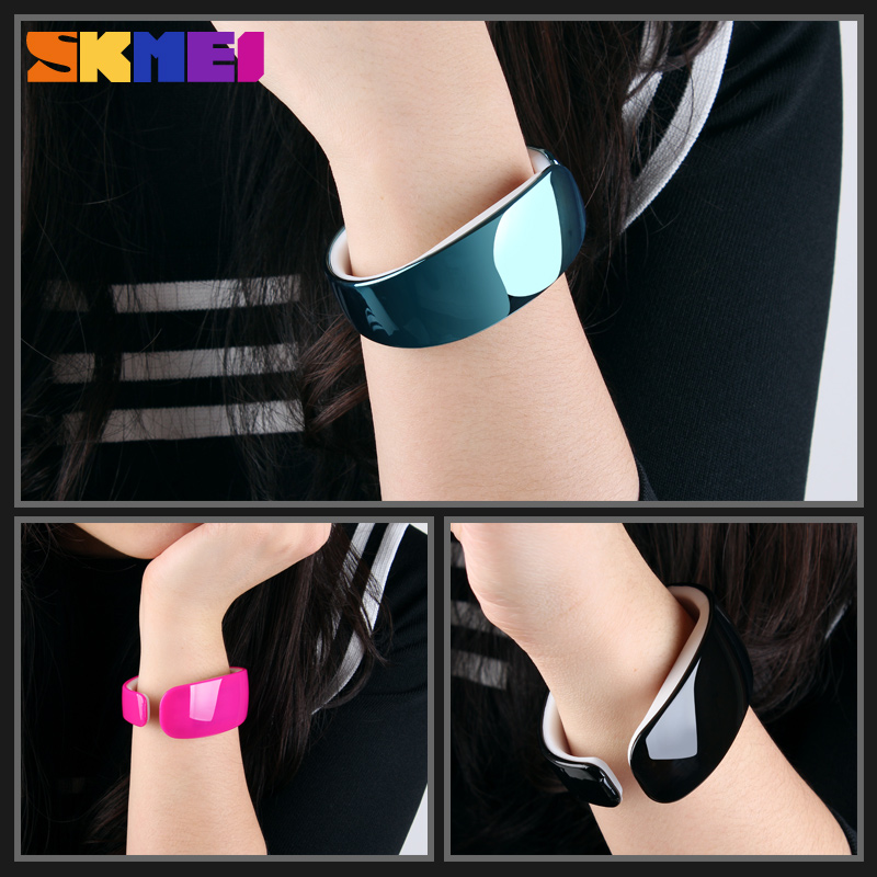No Dial Watch Touch Screen Skmei Women Led Digital Sport Watch Silicone With Competitive Price