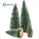 Customized unique artificial snow Christmas tree Ornaments Desk Snow Needle Pine Christmas PVC Decorations Tree