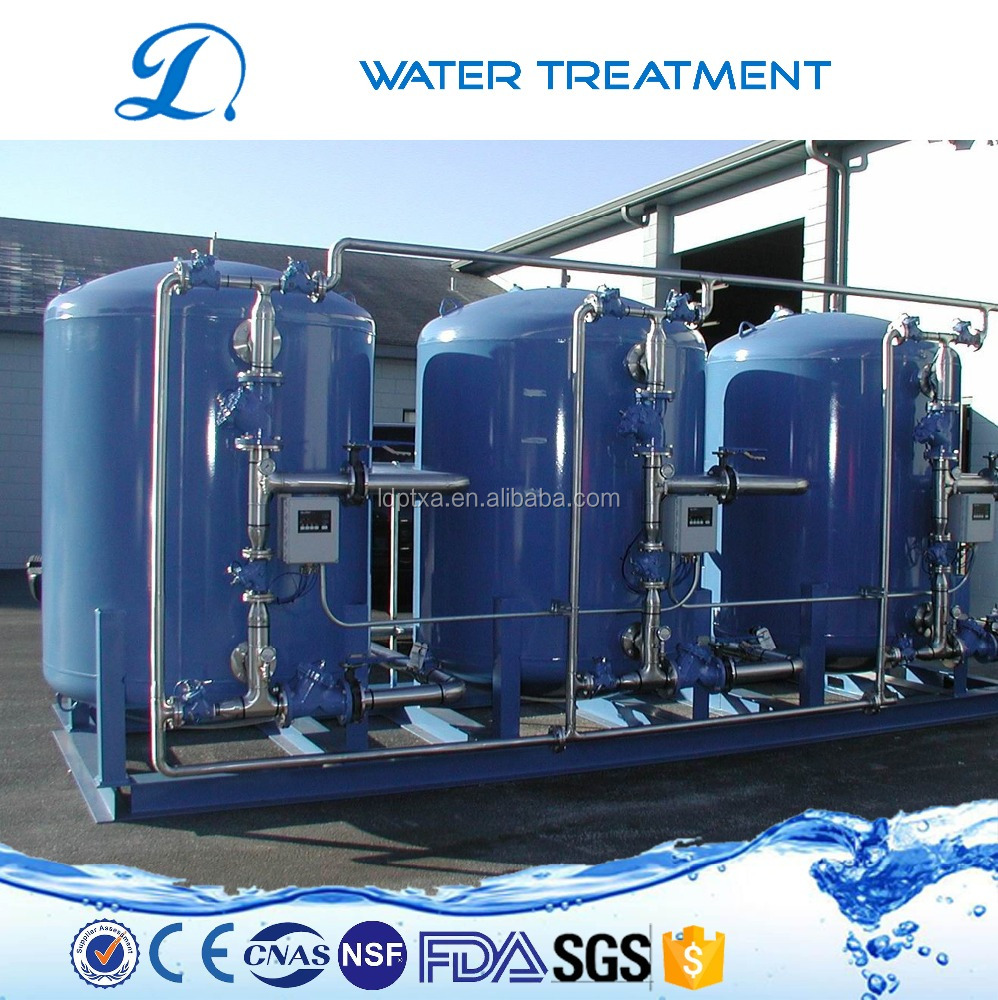 Remove manganese elemants dedicated activated carbon water treatment filter system