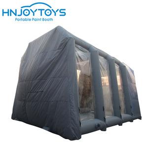 Easy Set Up Inflatable Bus Spray Paint Booth China For Sale