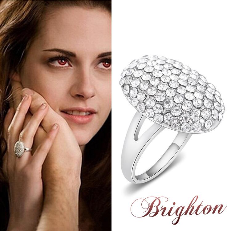 The Twilight Saga Breaking Dawn Ring Bella Wedding Crystal ... - photo#32