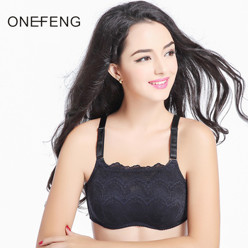 New Design Blue Black Beige Lace Mastectomy Bra Prosthesis Silicone Breast Match for Women Cancer Dissection to Wear