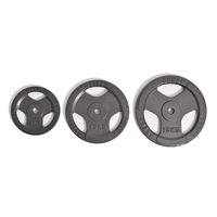 Factory Wholesale Grip Plate Gym Grey Cast Iron Weight Plate for lifting