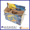 E-flute corrugated cardboard beer packaging box