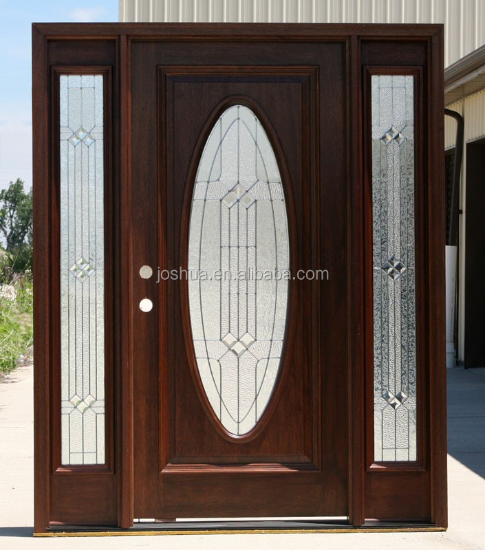 Oval doors custom door with oval lite makes impression for Entry door manufacturers