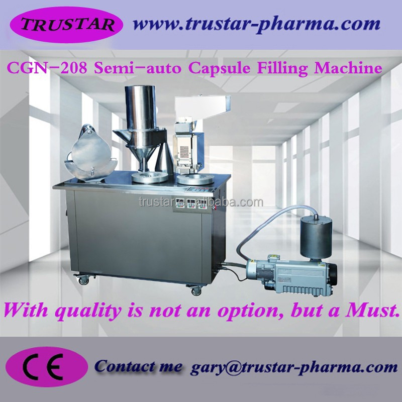Small Manual Semi-Auto Hard Capsule Filling And Sealing Machine pharmaceutical machinery factory price