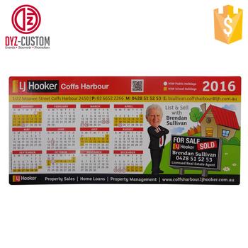 Personnalisé Publicité Promotionnelle 2017 Calendrier Mensuel Aimant De Réfrigérateur Buy 2017 Aimant De Réfrigérateur De Calendrier Mensuelaimant