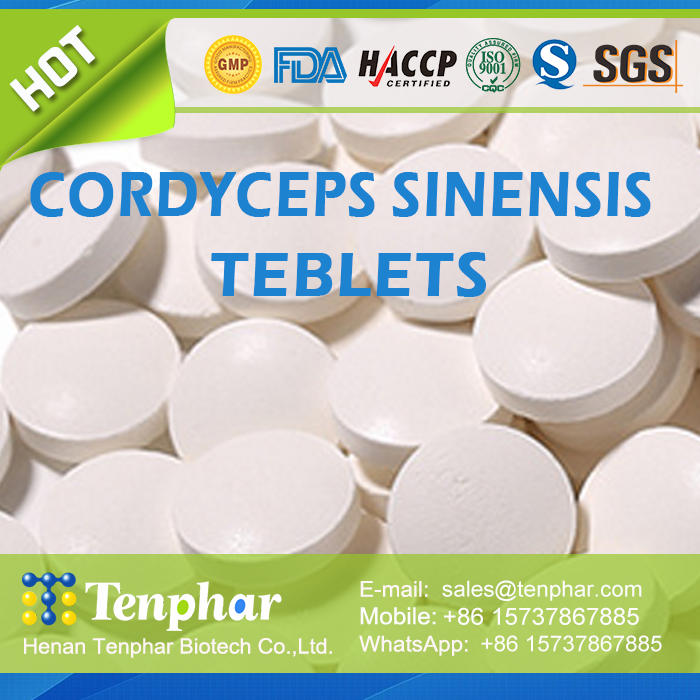 Private Label Service Cordyceps Sinensis Powder Essence Pills Softgel Tablet