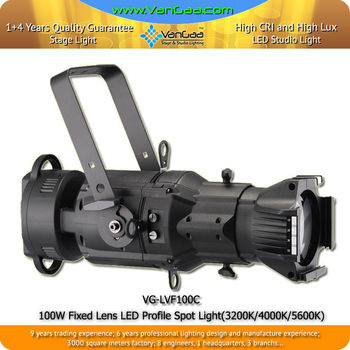 VanGaa VG-LVF100C LED 150w Fixed-Focus ellipsoidal reflector spotlight