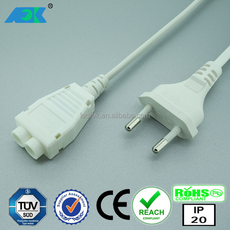 Dimmable LED Under Cabinet Lights Lamps Kit with RF Remote Control AC wire 2 way splitter junction box