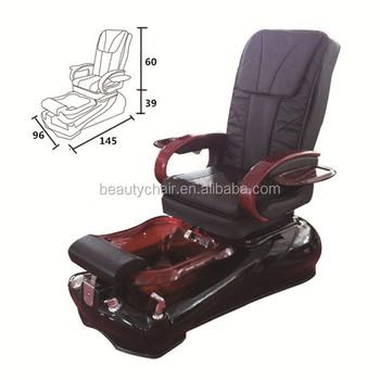 Genial Salon Spa High Quality Acrylic Base Foot Massage Pedicure Chair
