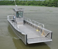 8m brand new Offshore tourist Aluminum Landing Craft with cabin