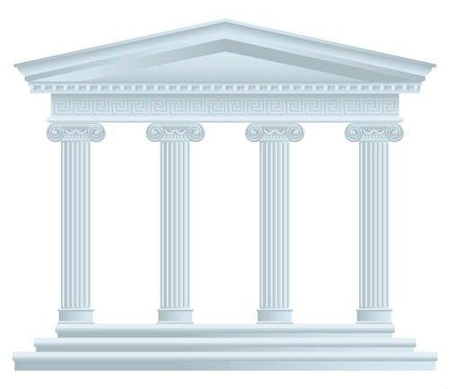 White Marble Roman Pillar Sculpture Buy Marble Roman