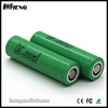 China Wholesale Merchandise Green 18650 25r 2500mah rechargeable battery 3.7v 18650 battery with pre-weld tabs