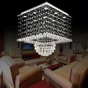 Ld Modern Crystal Chandelier Lighting Led Crystal Ball Pendant Light Puzzle Light