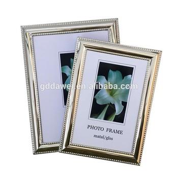 3x5 4x6 5x7 6x8 8x10 Glass Decorative Metal Photo Picture Frame