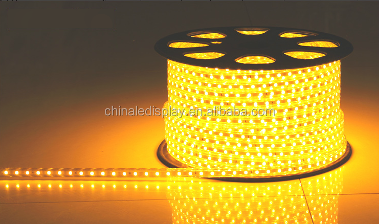 High end 110V/220V led light ip68 2835 led strip 60leds/m PW/NW/WW