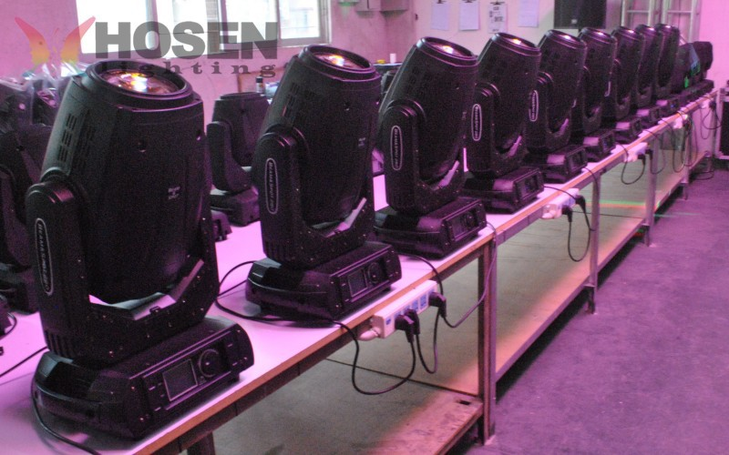 High brightness 280W 10R 3in1 sharpy moving head light