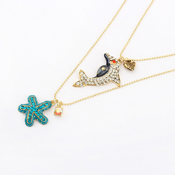 High end fashion jewelry necklace wholesale artificial for High end fashion jewelry