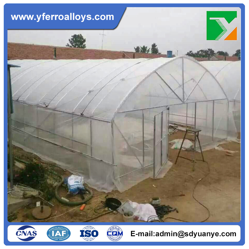 Single Span Plastic Film Greenhouse With Huge Market In Africa and India For Agriculture