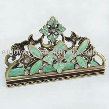 Jeweled business card desk top holder buy business card holder jeweled business card desk top holder reheart Gallery