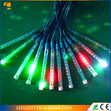 LED snowfall tube light with meteor chasing effect,led meteor shower lighting tubes