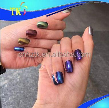 Nagel Chrom Pigment Pulver/Magie Metallic Spiegel Chrom Pigment Pulver Fu00fcr Nagel Farbe-Pigment ...