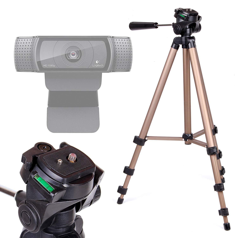 Ready Stockescam Webcam Stand For Logitech Webcam, Multi
