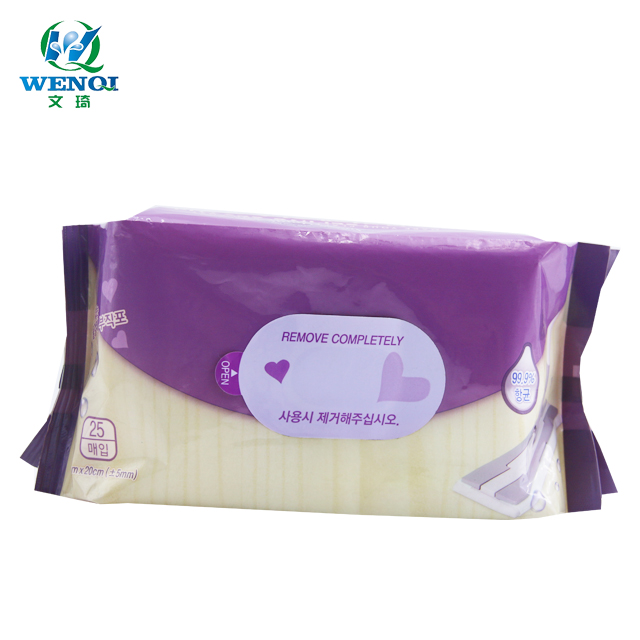 The top selling high quality wet cleaning floor wipes