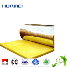 25mm glass wool roll insulation for roof