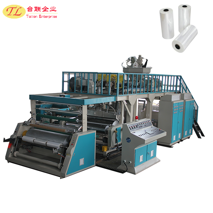 wrapping pe food grade cling film pallet wrap stretch film extruder