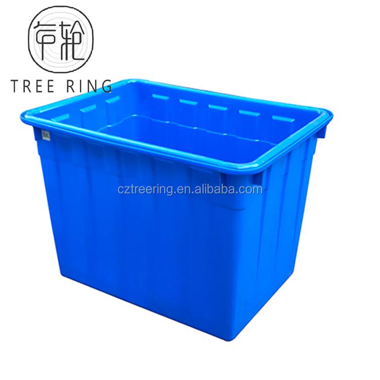Подгонянный размер и цвет пищевой ротационный поли ледоохладитель коробки для стальной ямы огня