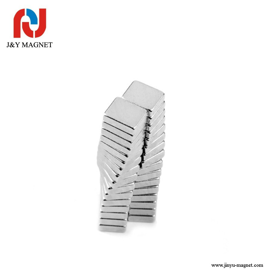 N48 Nickel plated ndfeb magnets magnetic generator permanent magnet for motor