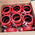 FM/UL/CE Approved Ductile Iron cast iron pipe fitting plug union For Fire Fighting