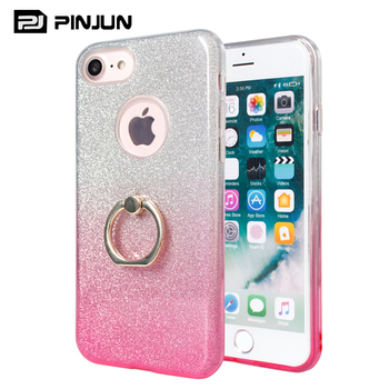 cheap for discount 279a5 7b893 For Samsung Galaxy J4 2018 Shimmering Powder Gradient Color Tpu Pc Glitter  Mobile Case Cover,Phone Case With Kickstand - Buy Shimmering Powder ...