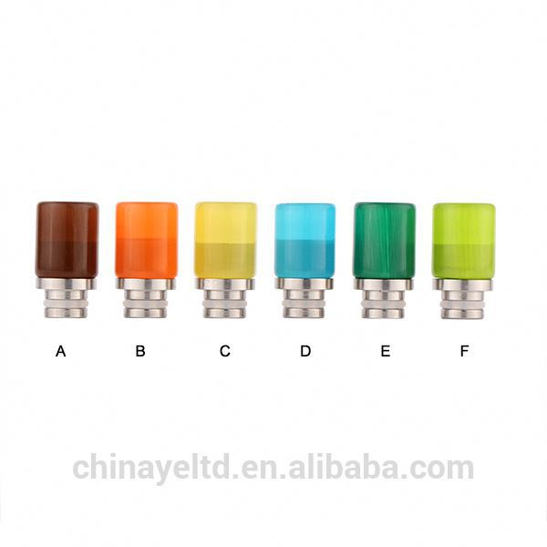 CHINAYE product glaze & SS drip tips OEM 510 drip tips for RDA Atomizers of free shipping