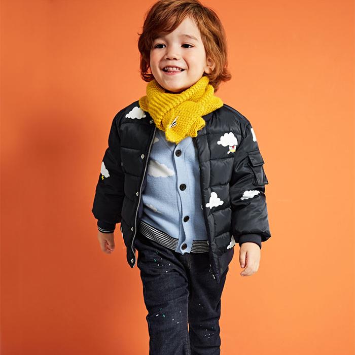 professional fashion child winter warm coat