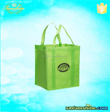 popular non woven grocery shopping bags with logos custom