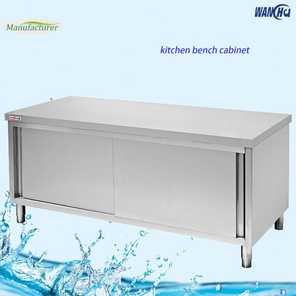 Stainless Steel Kitchen Cabinets Cost: Stht-1560 Low Stainless Steel Kitchen Bench Cabinet Price