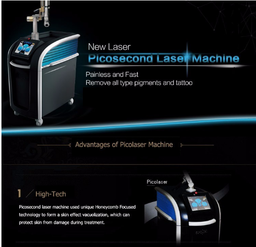 Picosure for Tatoo Removal q switch pico laser 1064nm 532nm 755nm picosure tattoo removal laser pico