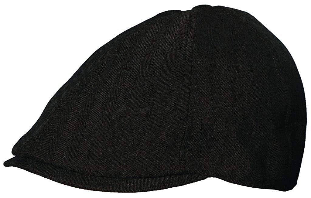 baeadb6f6e269 Get Quotations · STETSON Men TWILL IVY with Stetson Jacquard Lining Black  hats