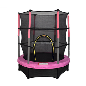 Customized Size Kids Indoor Mini Trampoline Parks Jumping Bed