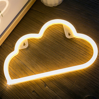 Fairy 3-AA Battery & USB Powered Wholesale LED Neon Cloud Night Light Christmas Decoration 2017