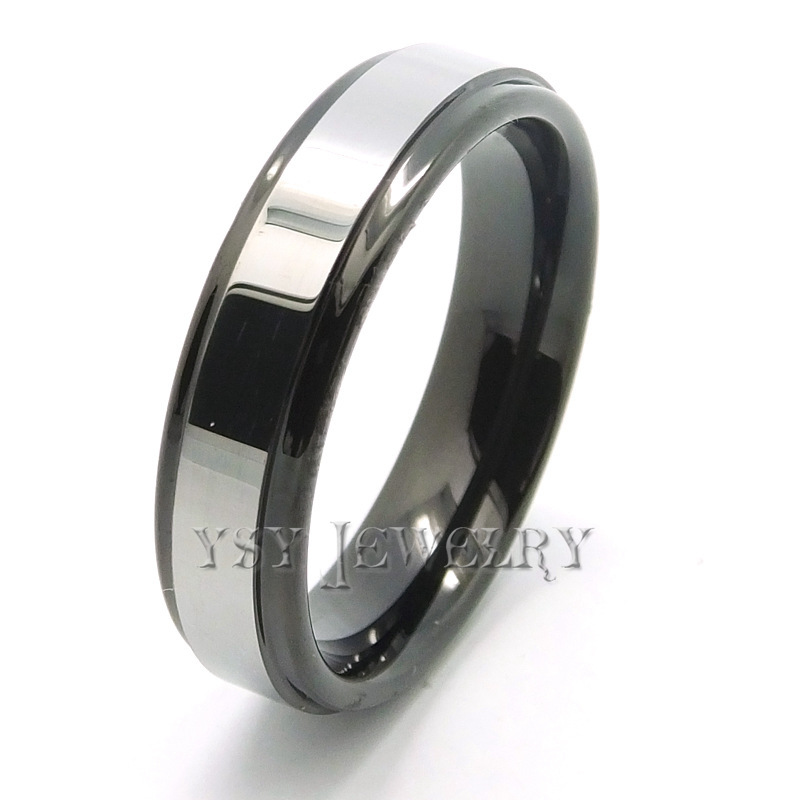 821e46f896 Get Quotations · Tungsten Carbide Ring Gold Jewelry For Men And Women  Comfort Fit Brand New affordable engagement rings