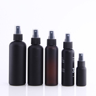 30ml 100ml 150ml 200ml Cosmo Shape Screen Printing Matte Black PET Plastic Spray Bottle