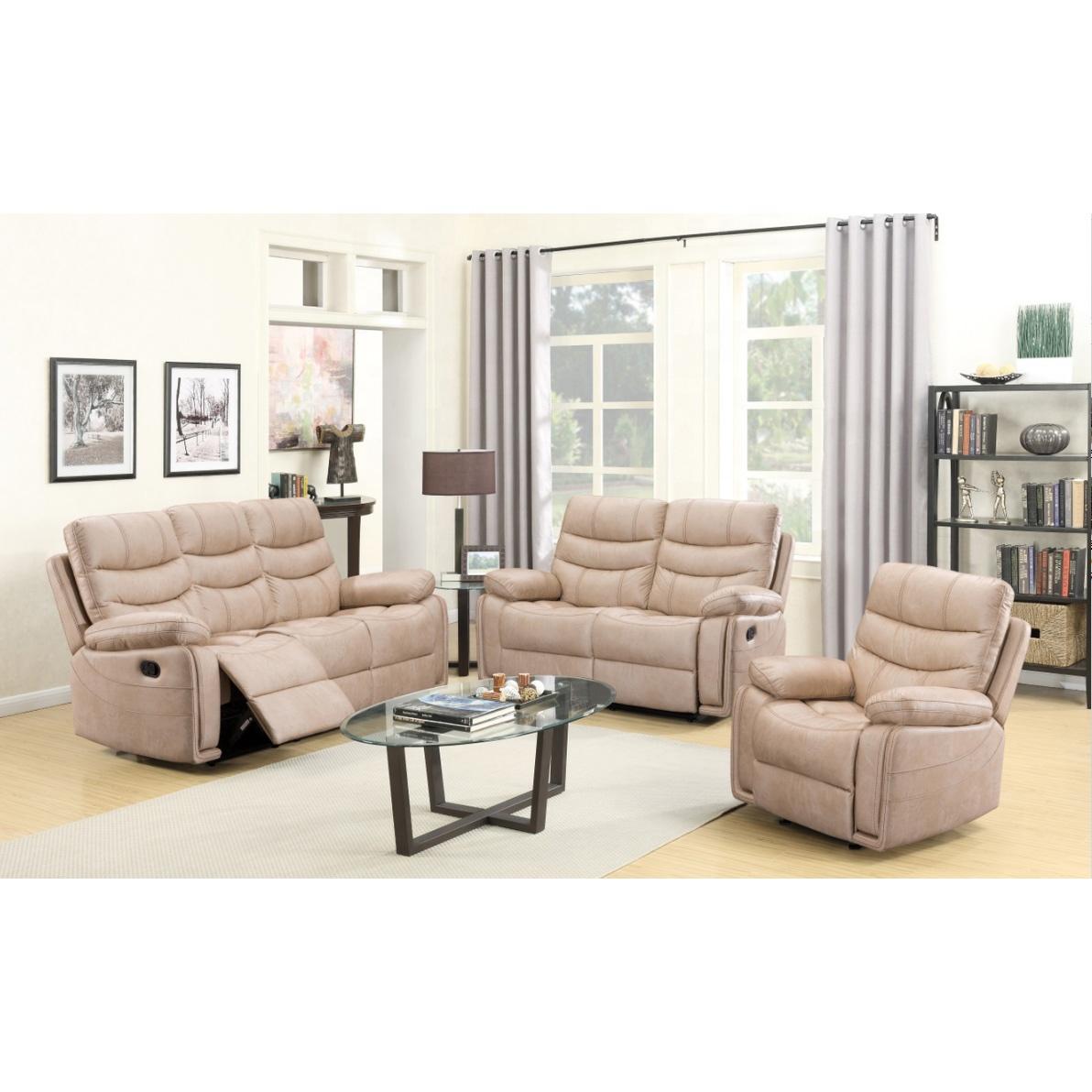 Furniture Unique Design White Leather