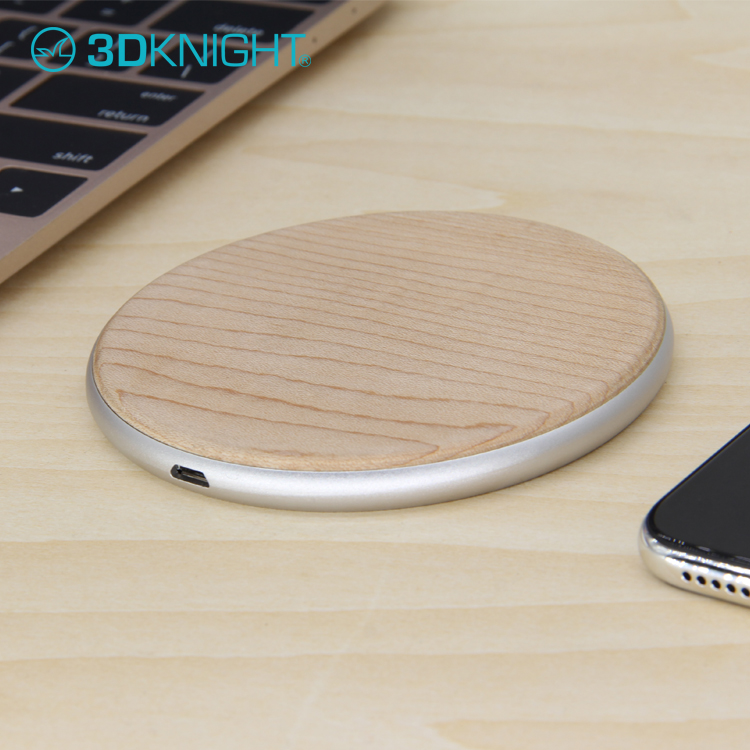 2018 New Universal Qi Fast Wireless Mobile Phone Charger Charging Pad